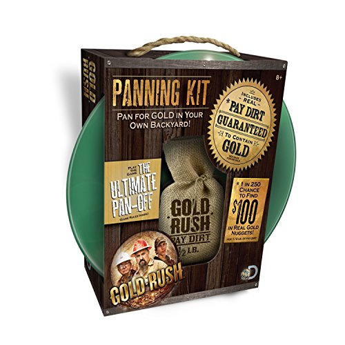 Gold Rush Panning Kit - 1/2 Pound of Paydirt Included (Gold Pan Kit compare prices)