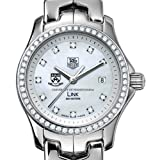 TAG HEUER watch:University of Pennsylvania TAG Heuer Watch - Women's Link with Diamond Bezel at M.LaHart