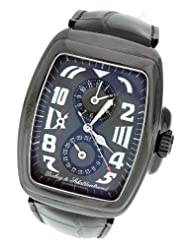 Men's Dubey & Schaldenbrand Buddy Four Aquaduo Stealth Black PVD Steel Watc