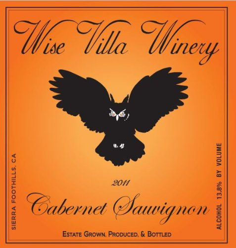 2011 Wise Villa Winery Sierra Foothills Cabernet Sauvignon 750 Ml