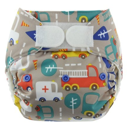 One Size Snap Pocket Diapers (Traffic)