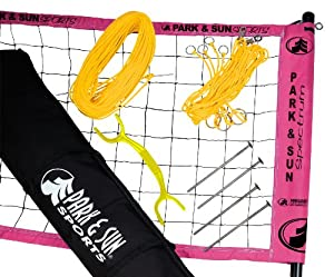 Buy Park & Sun TS-2MS Spectrum 2000 Volleyball Set by Park & Sun