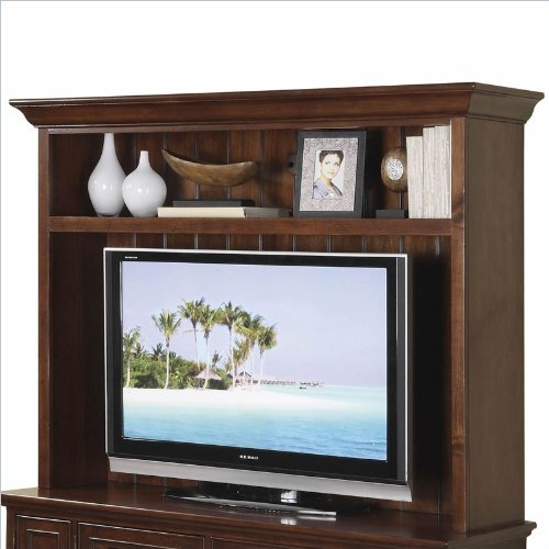 Cheap Riverside Furniture Yorktown 60 Inch TV Stand Open Deck in Vintage Cherry (B008BM7LF6)