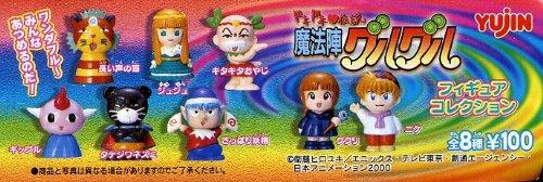 ガシャポン(ガチャガチャ) 魔方陣グルグル フィギュアコレクション 全8種フルセット