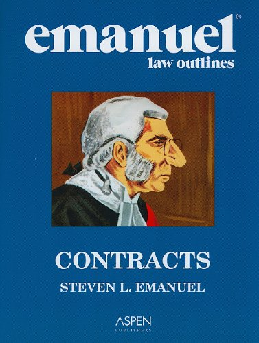 Emanuel Law Oultines: Contracts (Print + eBook Bonus Pack): Contracts Studydesk Bonus Pack (Emanuel Law Outlines)