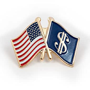 Official Galt's Gulch Flag Lapel Pin