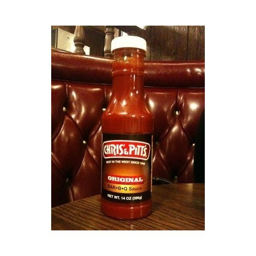 Chris and Pitts Original Barbecue BBQ Sauce Limited Supply 14oz