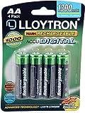Lloytron Rechargeable Battery 4 Pack 1300 mAh Size AA