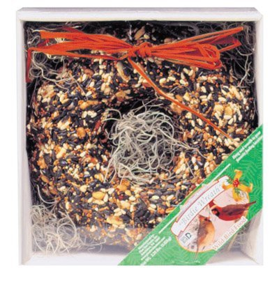 Pine Tree Farms 1351 Holiday Birdie Wreath, 2.25 Pounds