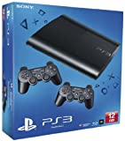 Sony PlayStation 3 12GB Super Slim Console with additional Dualshock 3 Controller (PS3)