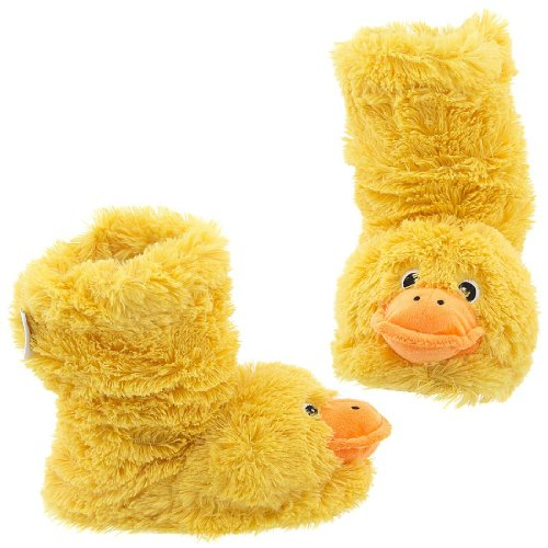 Buy Low Price Capelli NY Duck Furry Bootie Animal Slippers for Women (B007XKT84Y)