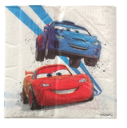 Disney Cars Lunch Napkins 20ct - 1