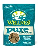 Wellness Grain-Free Treats for Dogs, Pure Rewards Venison, 6-Ounce Pouch