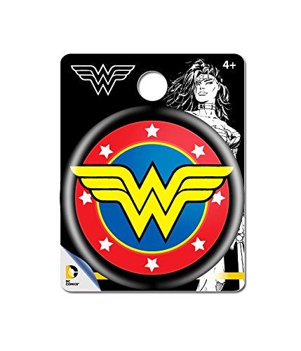 DC Comics Wonder Woman Logo Single Button Pin Action Figure - 1