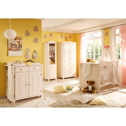 5-tlg. Babyzimmer-Set 'Lara' in Weiß kaufen