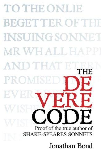 shakespeare in oxford Discount The De Vere Code