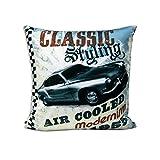 Cushion Cover - Classic Car (Set Of 1pc)