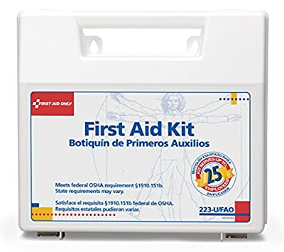First Aid Only 25 Person Bulk First Aid Kit, 106-Piece Kit from First Aid Only