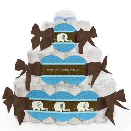 One Tier Diaper Cake