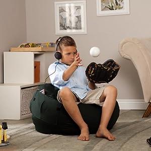 Tie Dye Bean Bag Chair Size: Small / Toddler