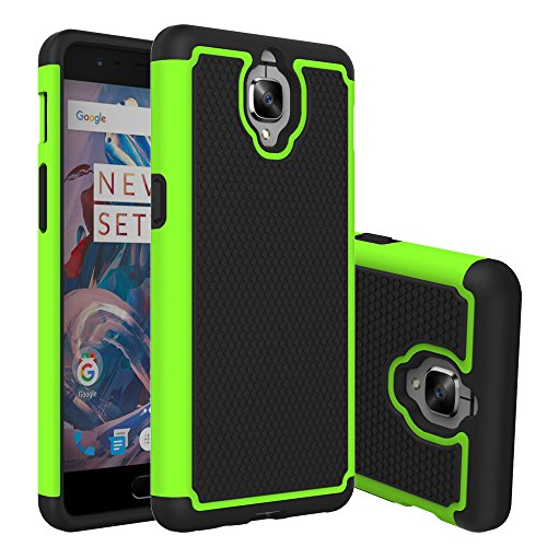 OnePlus 3 Case, Asstar Defender Protective Shock Absorbing Rugged Shell Extreme Protection / Rugged but Slim Merge Dual Layer Case Cover for OnePlus 3 (Green) (New Balance 900 Men compare prices)