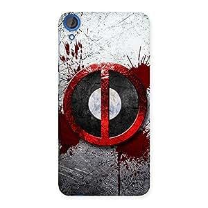 Premium Bleed Dead Multicolor Back Case Cover for HTC Desire 820s