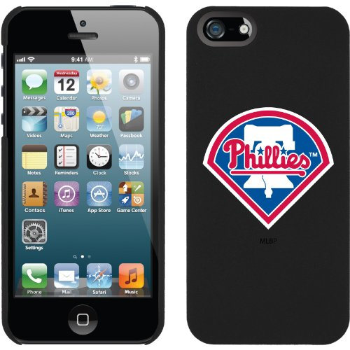 Special Sale Philadelphia Phillies design on iPhone 5 Thinshield Snap-On Case by Coveroo