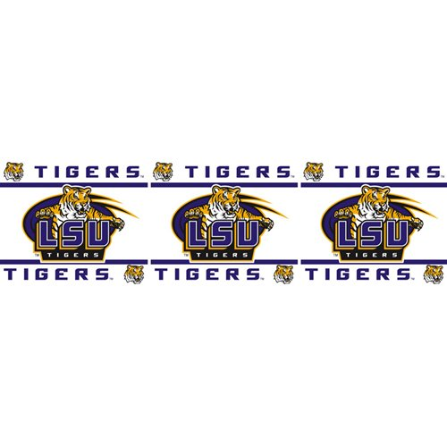 NCAA Louisiana State Fightin Tigers Wall Border at Amazon.com