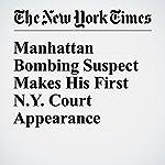 Manhattan Bombing Suspect Makes His First N.Y. Court Appearance | Benjamin Weiser,Adam Goldman