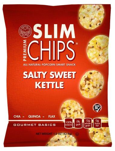 Slim Chips Salty Sweet Kettle 1.5Oz Bags (Pack Of 24)