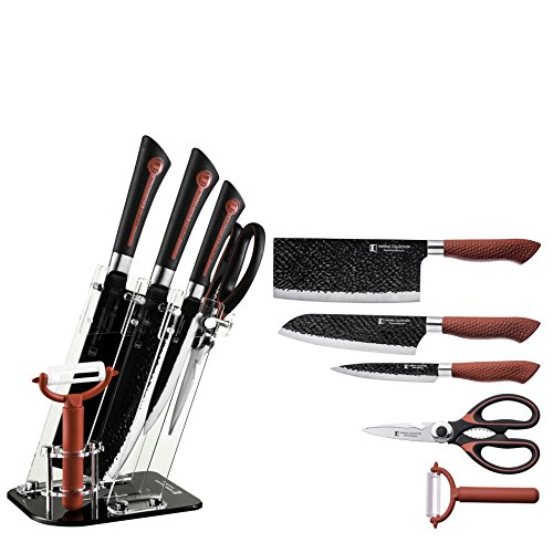 Imperial Collection 6 pc. Knife Set (Red/Black)