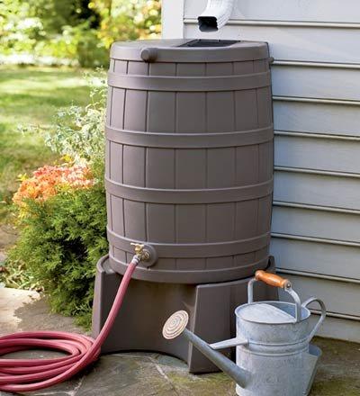 Rain-Wizard-50-Gallon-Water-Conservation-Barrel-with-Brass-Shut-off-Valve-in-Khaki