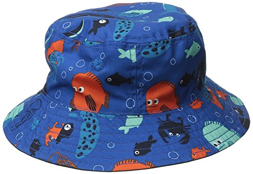 Gymboree Baby Boy Sea Creatures Reversible Bucket Hat, Multi, 12-24 Months
