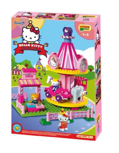 Unicoplus juego de construccin hello kitty 8687 00hk for Juegos de hello kitty jardin
