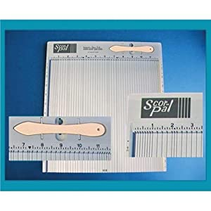 "Scor-Pal Measuring & Scoring Board 12""X12""-"