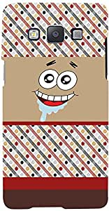 PRINTVISA Cartoon Patter Smiley Case Cover for Samsung Galaxy A7