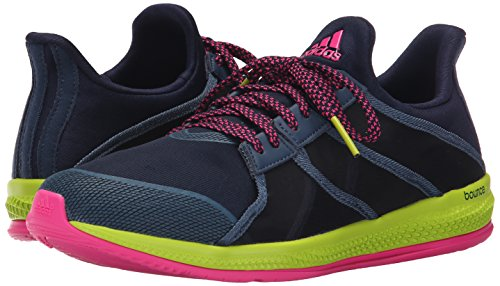 Adidas Performance Women's Gymbreaker Bounce Training Shoe,Collegiate Navy/Blue/Shock Pink,9.5 M US
