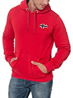 Geographical Norway Sudadera con Capucha Fondant (Rojo)