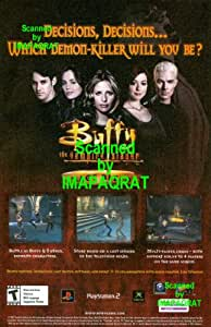 Buffy the Vampire Slayer: Chaos Bleeds: XBOX, Playstation 2, Gamecube Video Game: Great Photo Print Ad