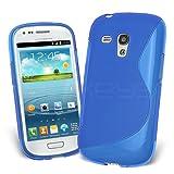 Celicious Blue Nude Wave TPU Gel Case for Samsung Galaxy S3 Mini I8190 Samsung Galaxy S3 mini Case Cover