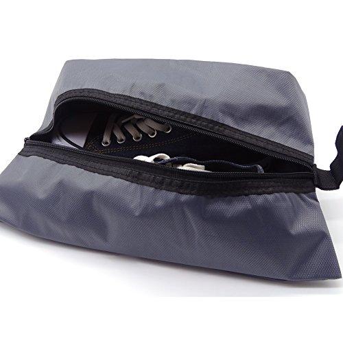 """Maveek portatile impermeabile in Nylon per scarpe da viaggio Organizer da tasca con chiusura a zip per Set di alta qualità, motivo """"friends"""", da viaggio, confezione da 2 pezzi"""