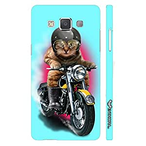 Samsung Galaxy E5 Cat Coolio designer mobile hard shell case by Enthopia