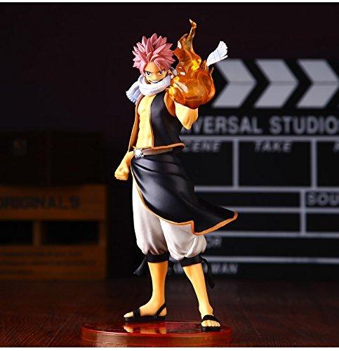Japan Anime Fairy Tail Natsu Dragneel Original 24cm Boxed PVC Action Figure Model Toys