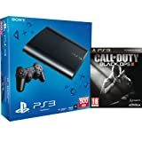 PS3: New Sony PlayStation 3 Slim Console (500 GB) - Black - Includes Call of Duty: Black Ops 2 Playstation 3 PS3
