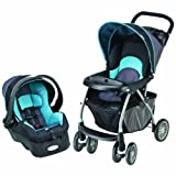 Evenflo Journey 300 Stroller with Embrace 35 Car Seat, Koi