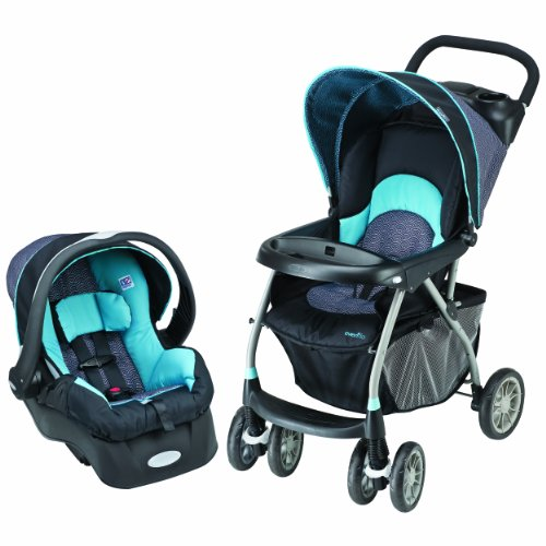 Sale!! Evenflo Journey 300 Stroller with Embrace 35 Car Seat, Koi