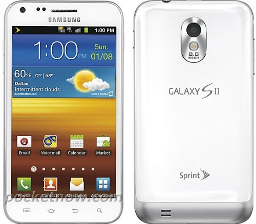 Link to Samsung Epic 4G Touch Galaxy S II No Contract 8MP Android Smartphone – White Sprint Big Discount