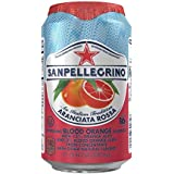 San Pellegrino Sparkling Fruit Beverages, Aranciata Rossa/Blood Orange 11.15-ounce cans (Aranciata Rossa (Blood Orange), Total of 48)