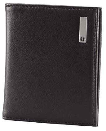 Victorinox Men's Altius 3.0 Antwerp Leather Card Case, Black, One Size
