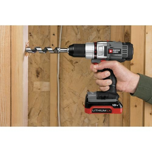 PORTER-CABLE PCL180CDK-2 1/2-Inch 18-Volt Lithium Compact Drill/Driver